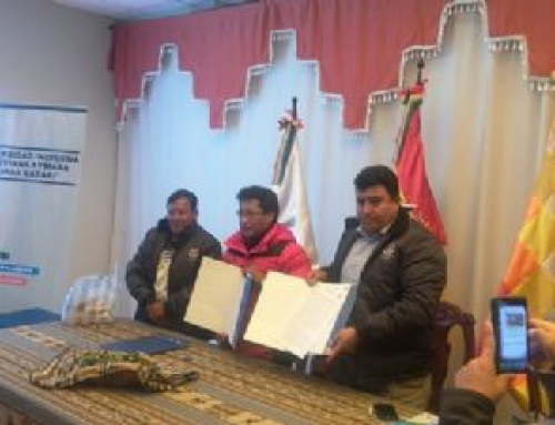 SENARI y Universidad Aymara acuerdan cooperación interinstitucional