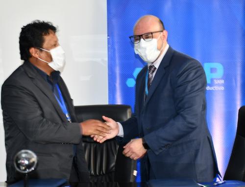 El BDP y el SENARI firmaron un convenio para brindar Asistencia Técnica