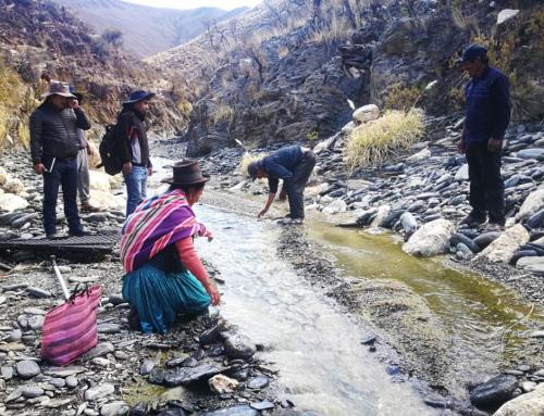 SENARI realizó inspección de campo en Chuquisaca