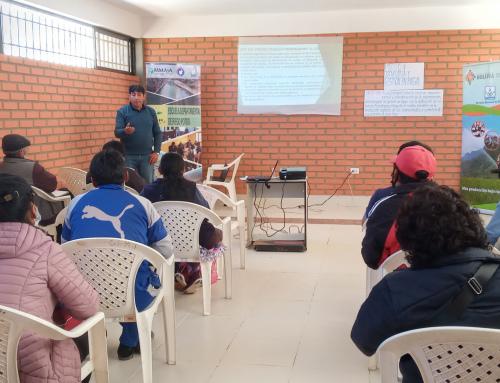 SENARI desarrolló IV Módulo del curso de Técnico Auxiliar en Potosí