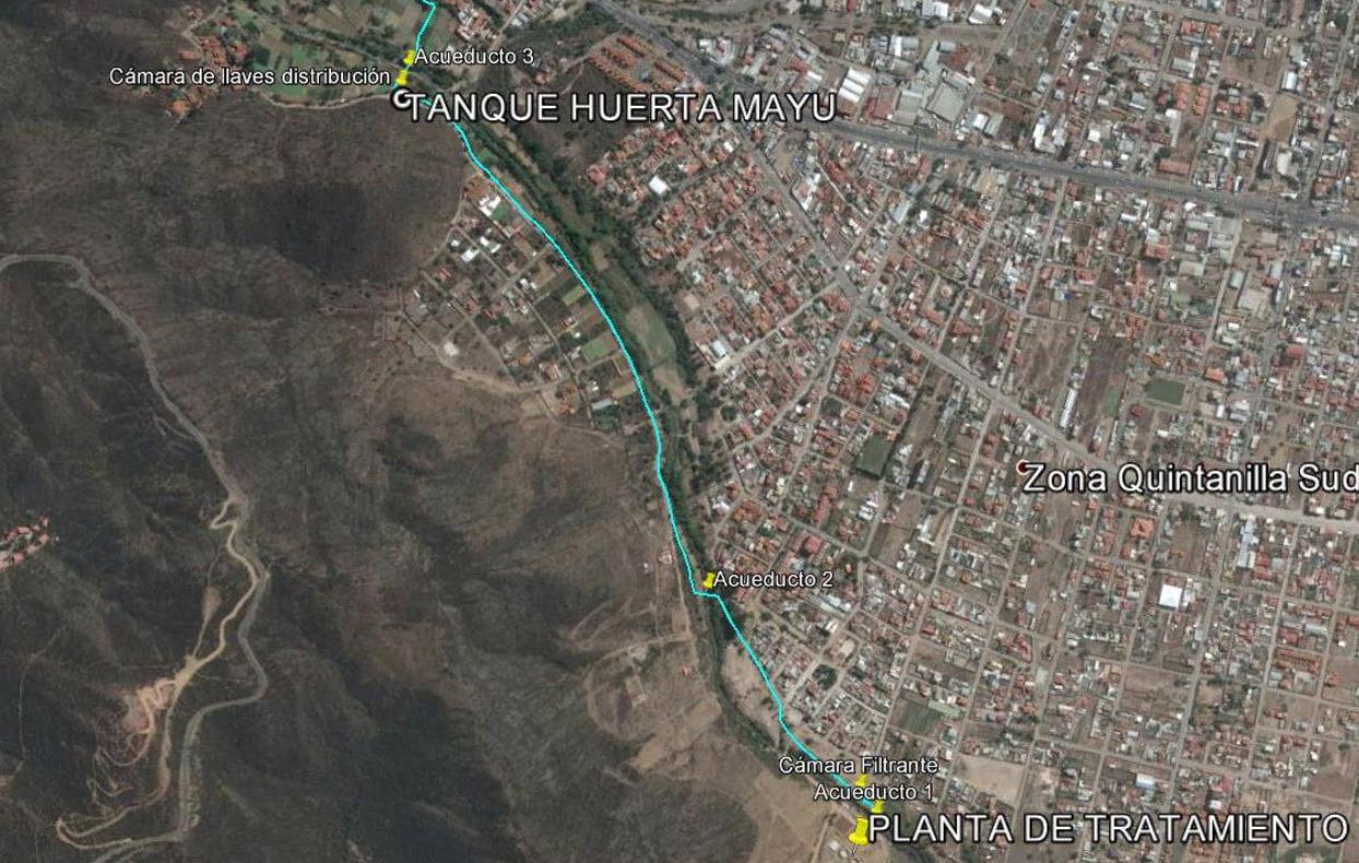 Construcción de Medidas de Infraestructura para Hacer Resiliente el Reuso de Aguas Residuales Tratadas en Agricultra Comunidad Huerta Mayu