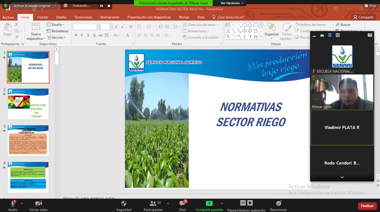 """Curso Virtual «LEY DE RIEGO Y REGISTROS COLECTIVOS"""""""
