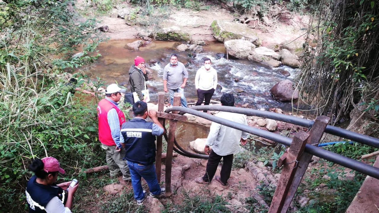 Realización de proyectos de riego a nivel ITCP—FIV en Santa Cruz