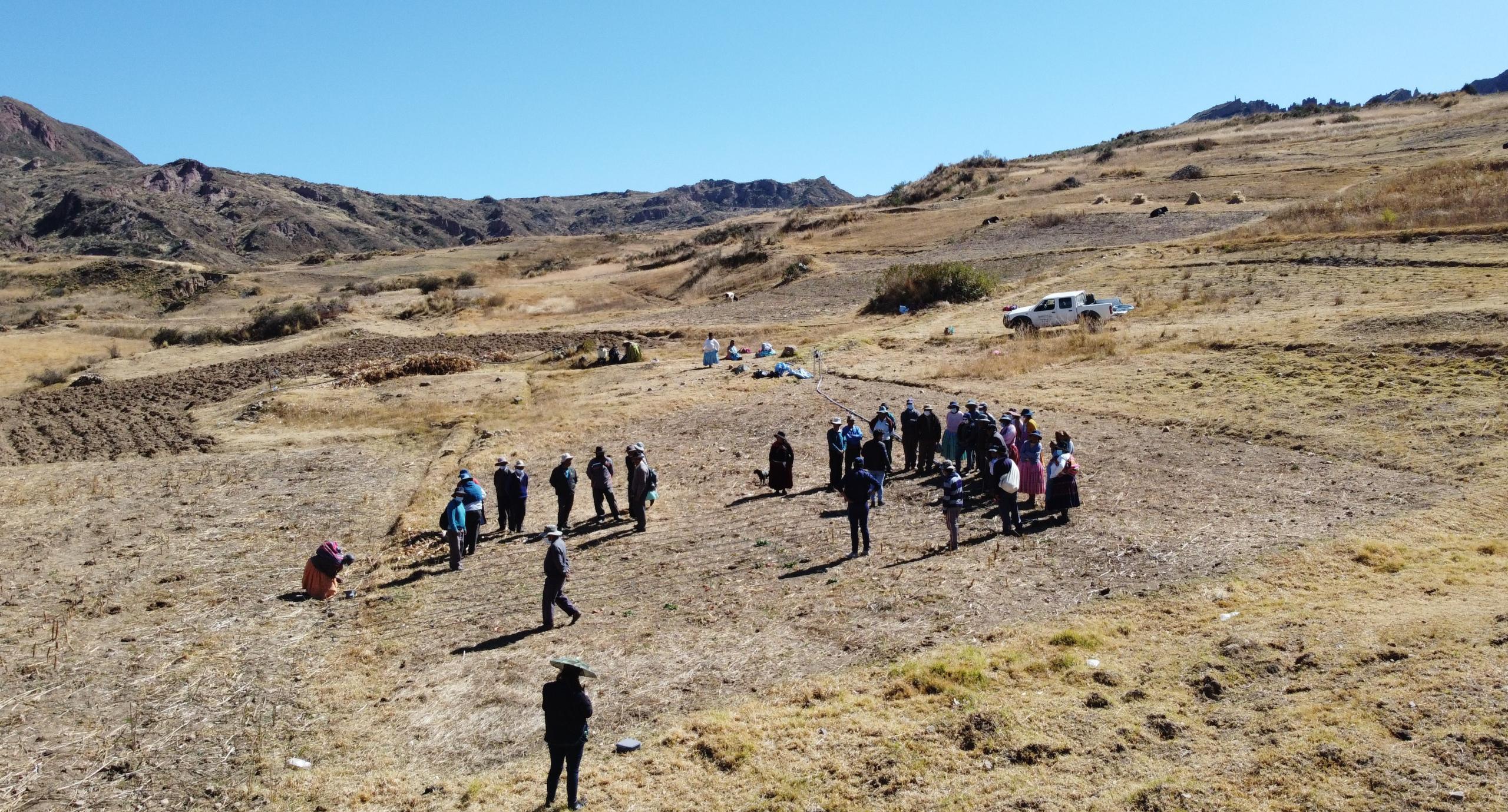 SENARI realiza jornadas demostrativas en Mecapaca