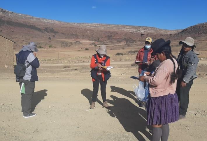 SENARI llega a Chuquisaca para realizar inspección de campo