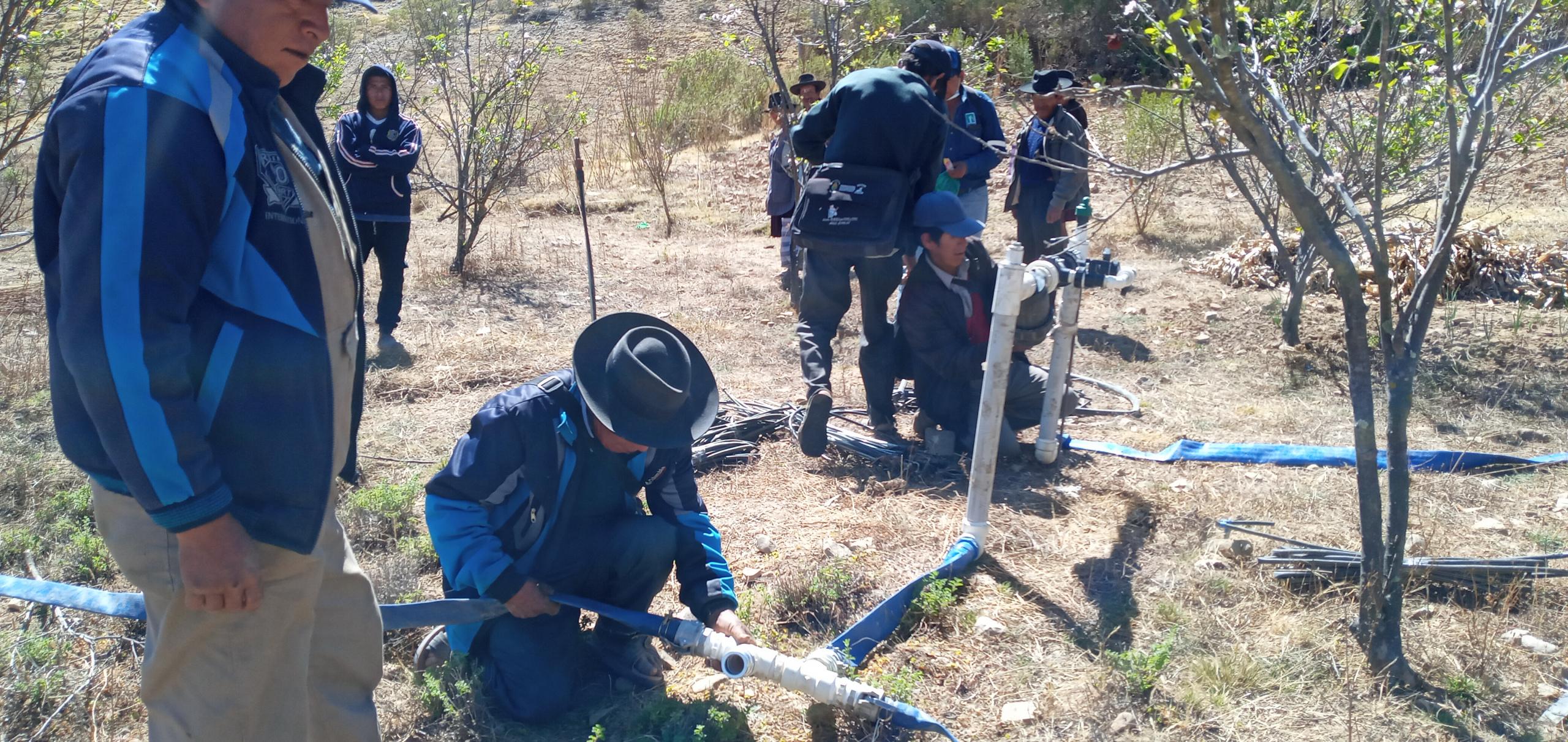 SENARI realizó taller de capacitación práctico en el municipio de Trabuco del departamento de Chuquisaca