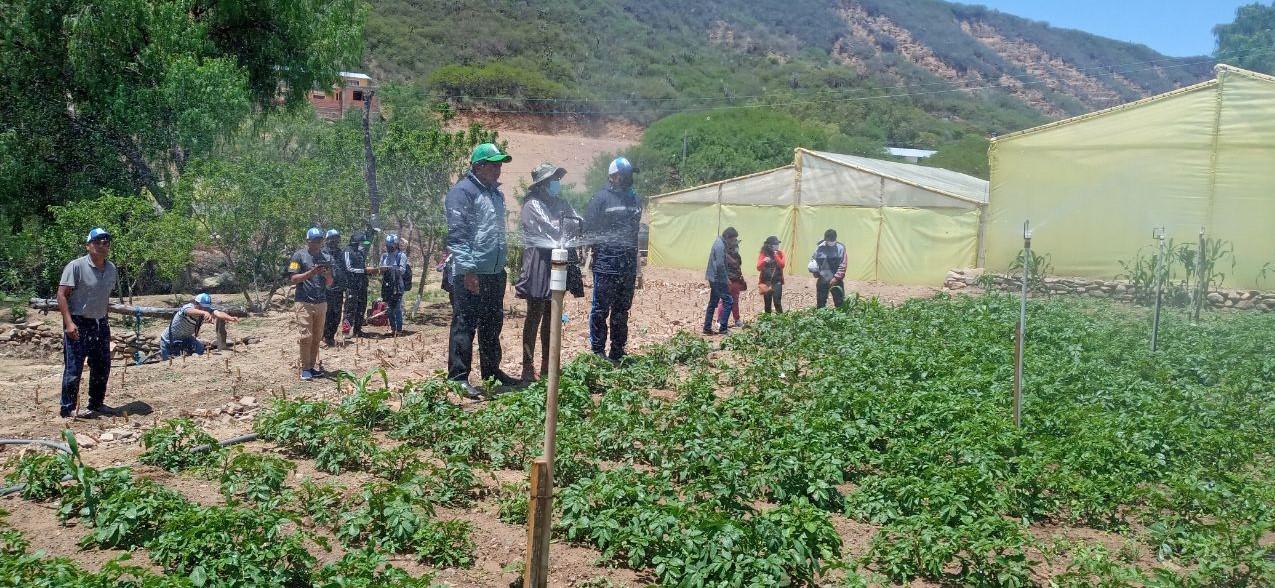 SENARI realizó el V módulo de los FCR en el departamento de Chuquisaca