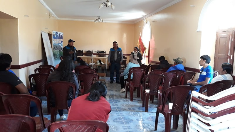 SENARI culminó curso formación de Facilitadores Comunitarios en Riego (FCR) del nivel Técnico Auxiliar en Potosí
